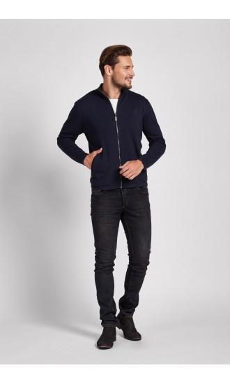 Sweter meski Luis Granatowy