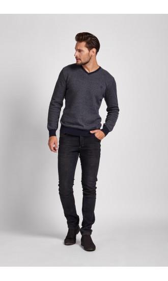 Sweter meski Samuel Granatowy