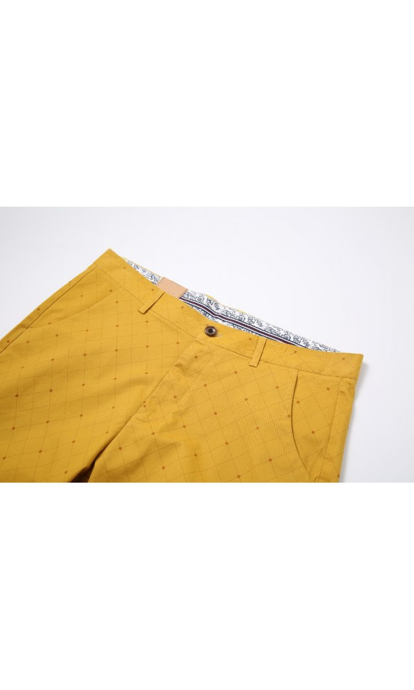 Spodenki męskie Quentin żółte